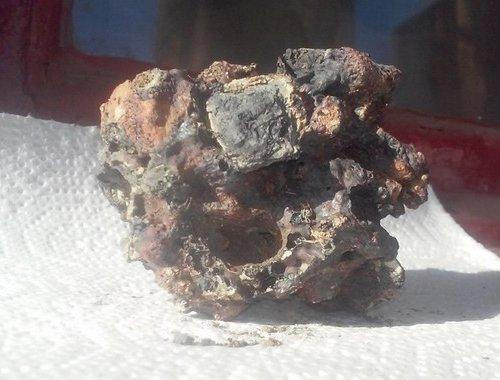 Россиянка, отдыхая в Керчи, нашла метеорит